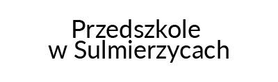 Przedszkole w Sulmierzycach